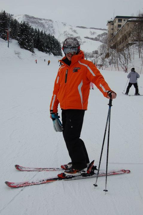 Jamie - ski
