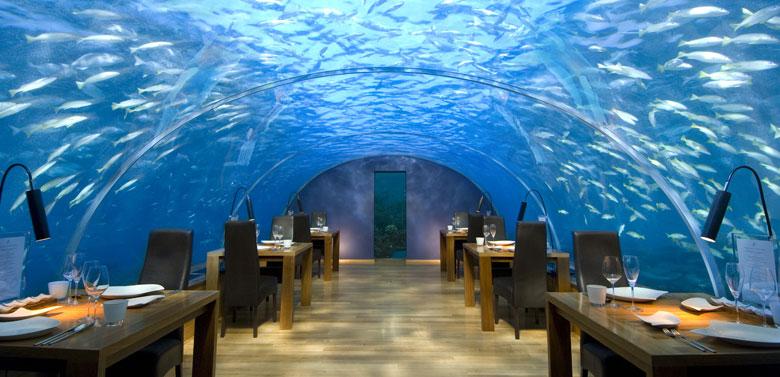 Undersea Restaurant, Maldives