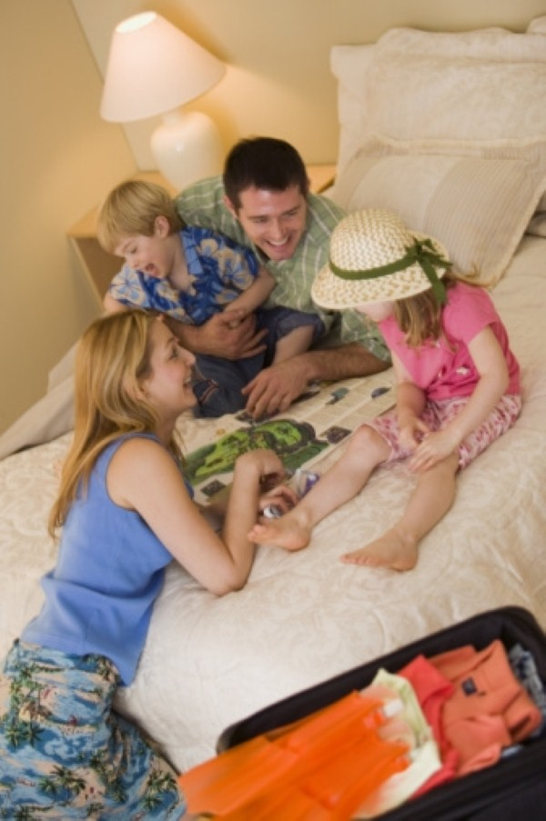 Don't forget any of the essentials when you pack for a family holiday