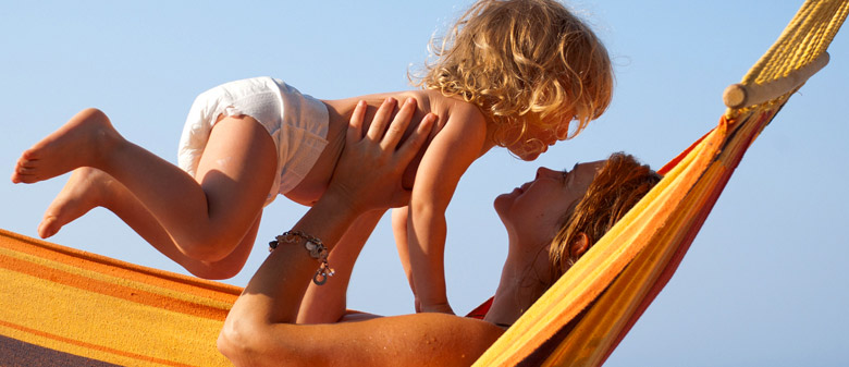 Adjusting kids' routines on holiday