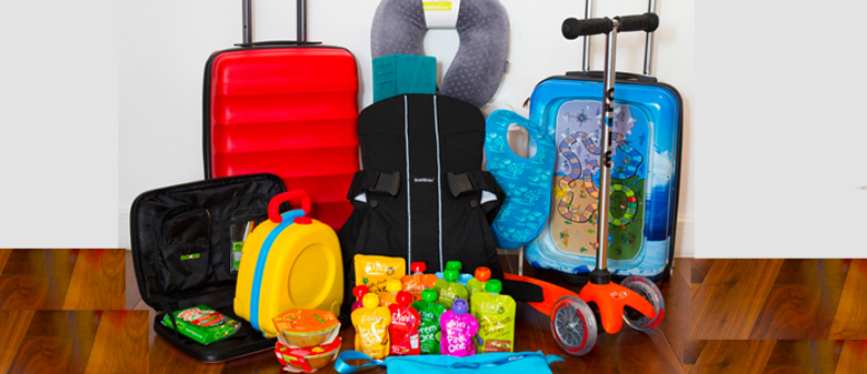 how to pack family hand luggage