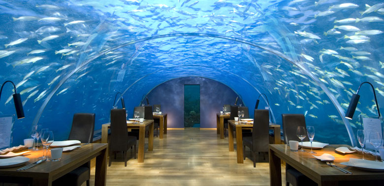 Undersea Restaurant, Maldives